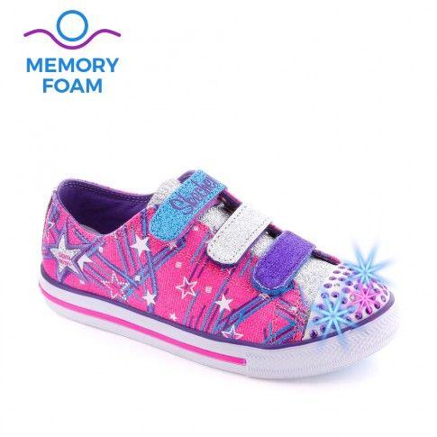 Tenisi fete Twinkle Toes Hot Pink - Skechers