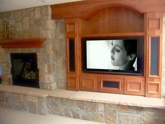14 best Entertainment center images on Pinterest | Fireplace ideas ...