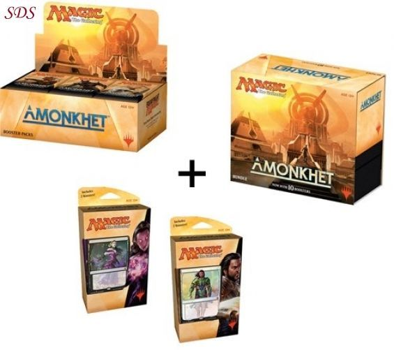 Amonkhet Magic Booster Box Bundle Both Planeswalker Decks MTG Variety Pack NEW  | Toys & Hobbies, Collectible Card Games, Magic: The Gathering | eBay!