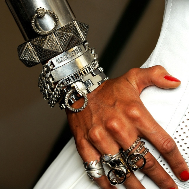 Dream arm and hand of jewelry