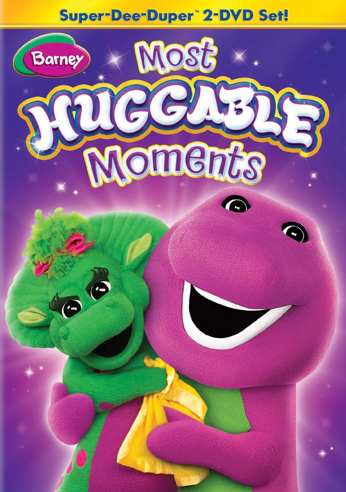 Barney Most Huggable Moments Super Dee Duper Dvd Best Buy Barney Friends Barney Cool Things To Buy