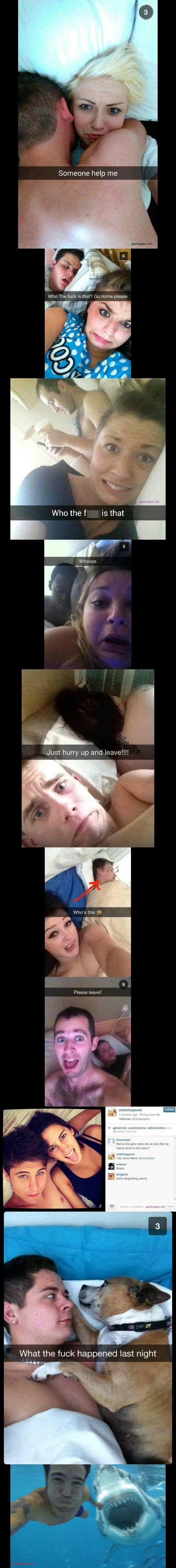 Top 10 Funniest After Sex Selfies