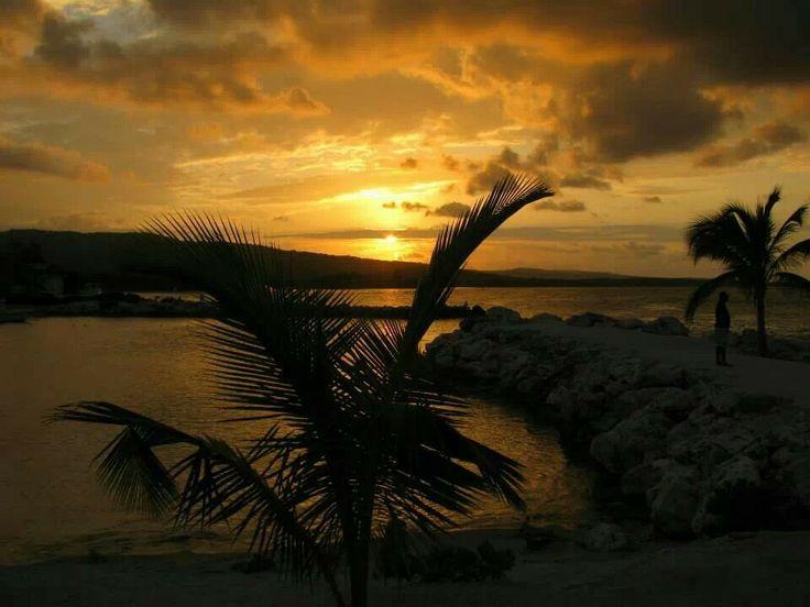 Jamaican sunset February 2014