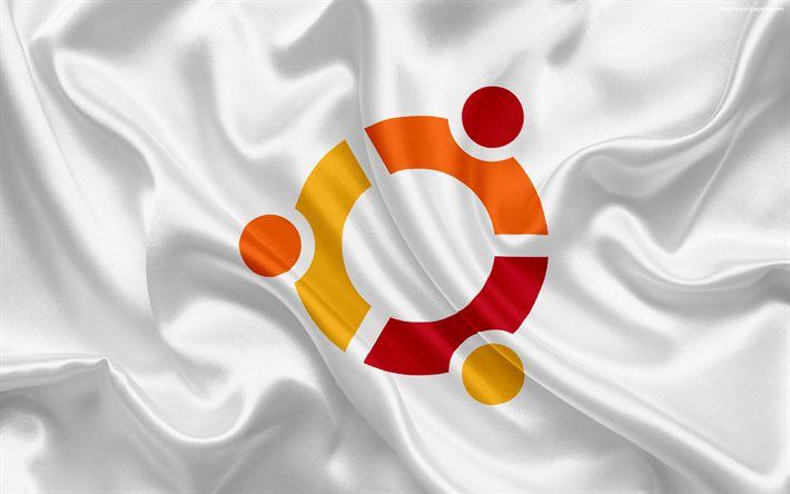 Hämta bilder Ubuntu, operativsystem, linux, Ubuntu logotyp, emblem