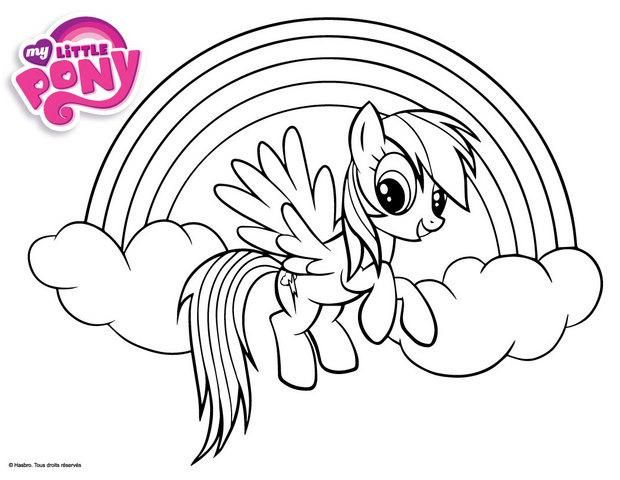 13 Typique My Little Pony Coloriage Pics Halaman Mewarnai Buku