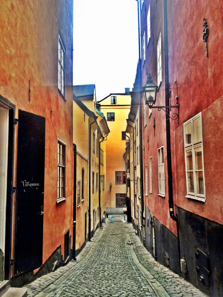 Old Town in Stockholm.