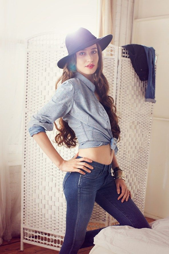 It's all in the jeans - restoration fashion as Wrangler launches moisturising jeans