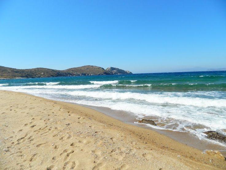 Psathi beach Ios, Greece