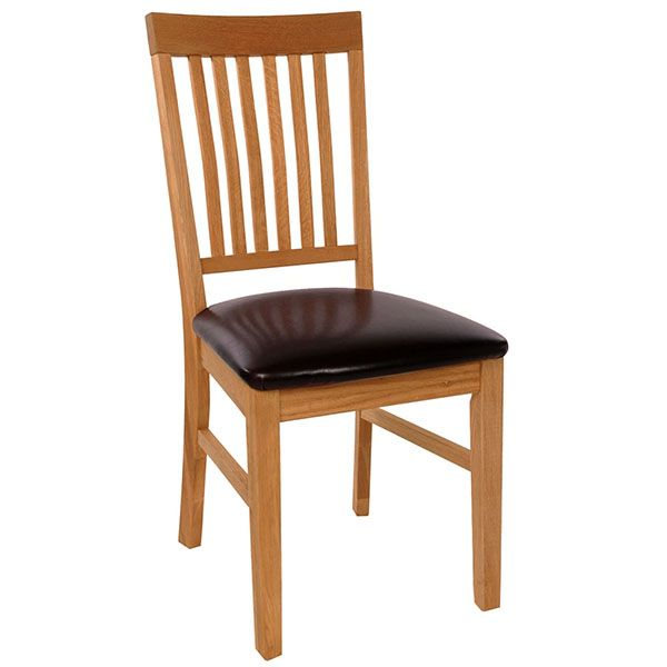 The Hannover Dining Room Chair (leather) - Dining Room Furniture