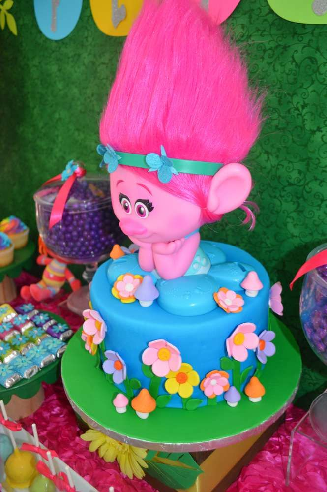 Trolls Birthday Party Ideas | Photo 1 of 69