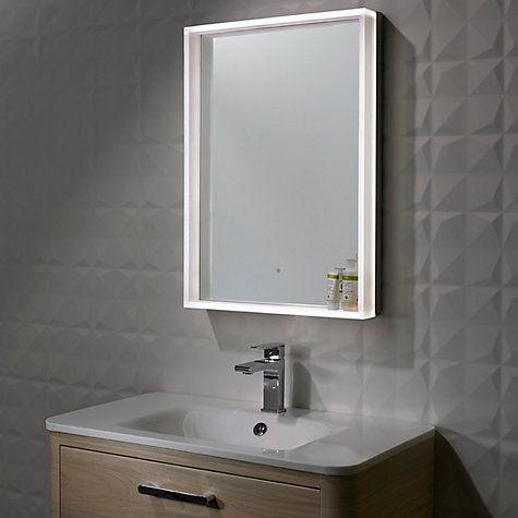 Buy Roper Rhodes Aura Illuminated LED Bathroom Mirror Online at johnlewis.com