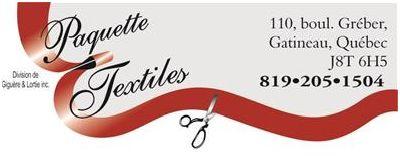 Gatineau, Québec | Paquette Textiles | Pas de ventes en ligne-No online sales | https://www.facebook.com/Paquette.Textiles/?fref=ts