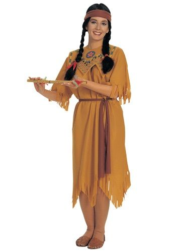 adult pocahontas costume - Modest Womens Halloween Costumes