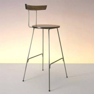 cherner konwiser stool cherner stools utilize the highest quality woods and veneers solid steel not tubular steel are used for the our metal bases