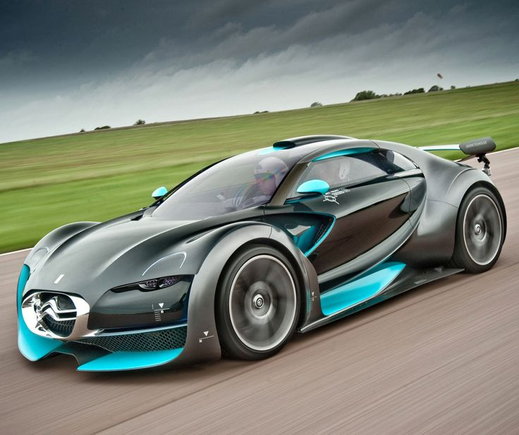 ♂ Concept car blue grey