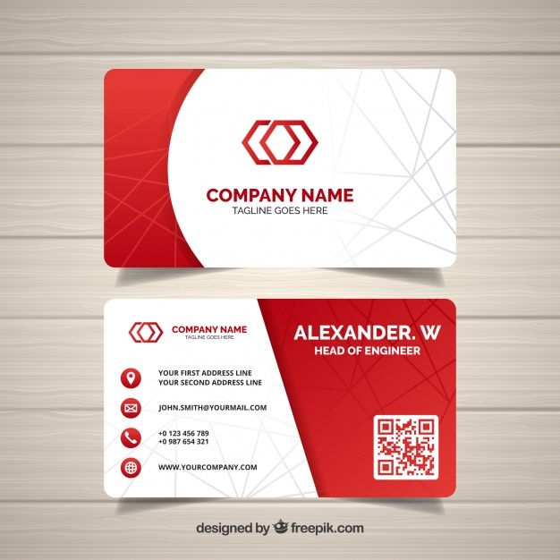 Carte De Visite Abstraite Company Business Cards Free Business Card Templates Corporate Business Card