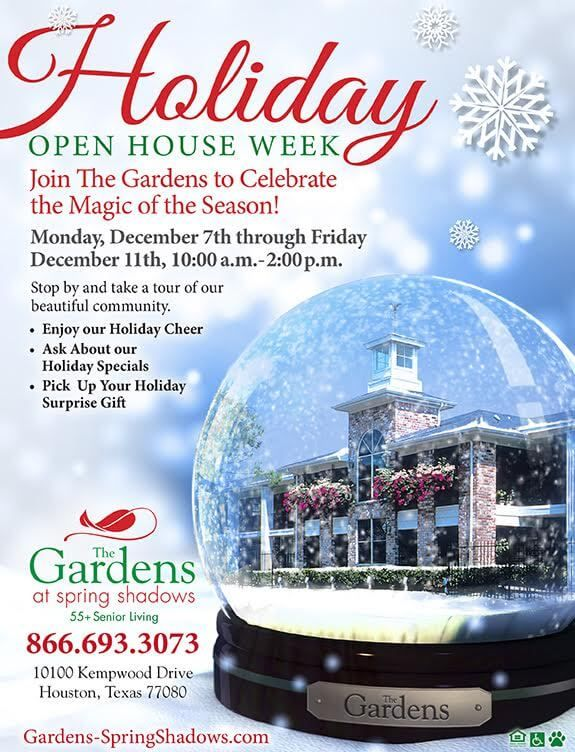 Holiday Open House Week