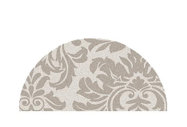 2' x 4' Glebe Hearth Rug, Warm Gray on OneKingsLane.com