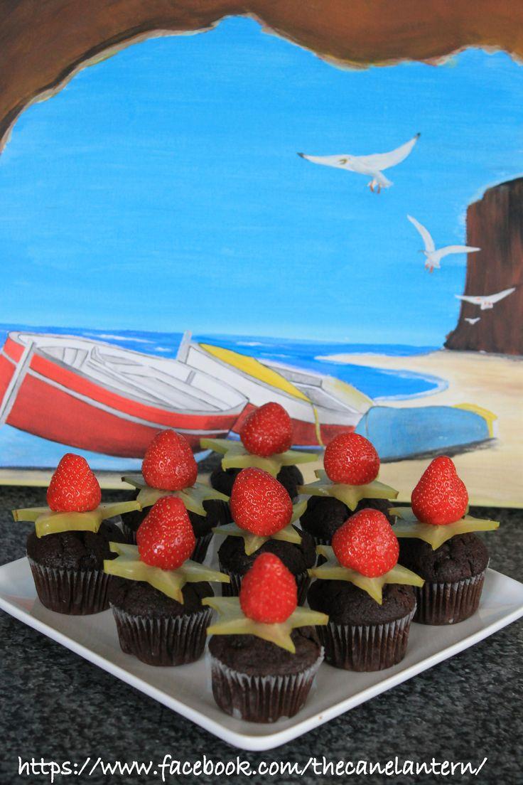 Star fruit mini muffins.Cane Lantern