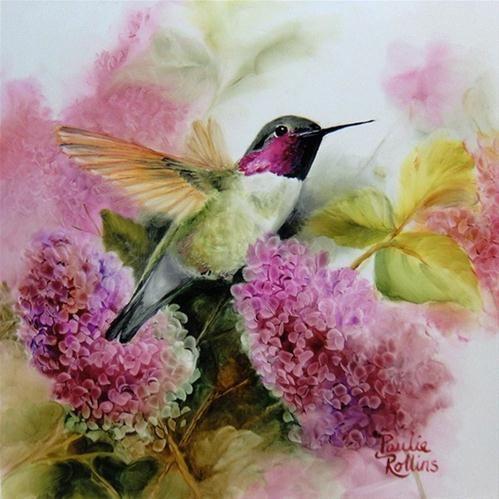 Clad in Pink - Original Fine Art for Sale - © Paulie Rollins