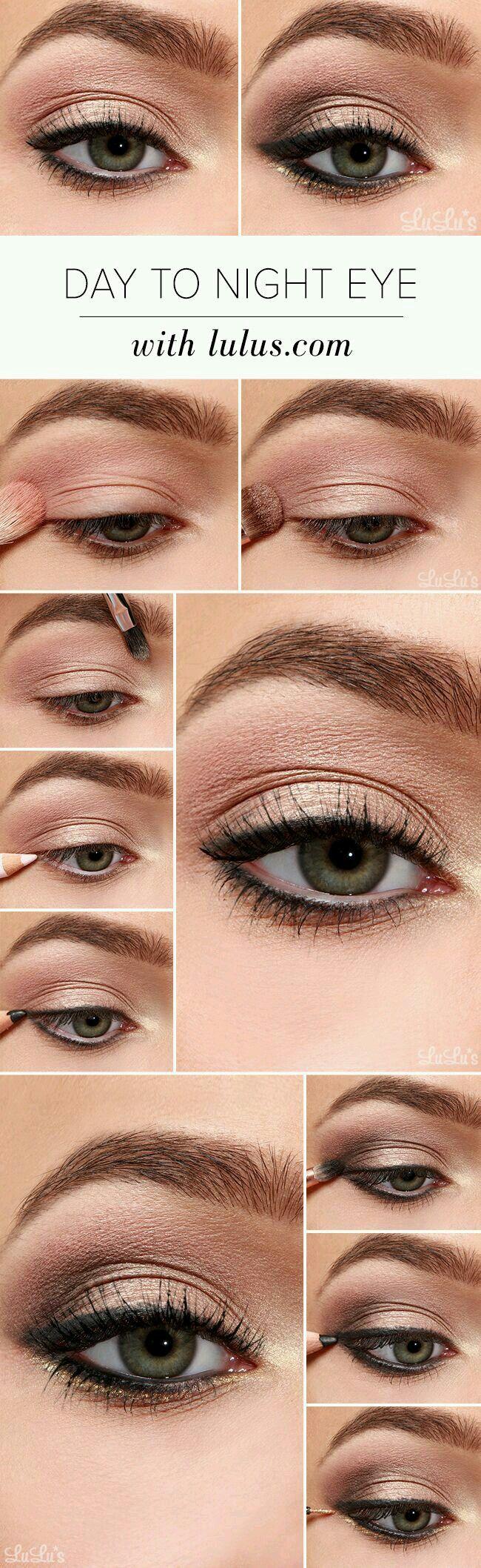 Day to Night Eye Makeup