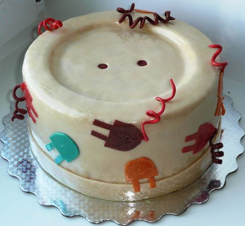 29 Best Images About Electrician Cake On Pinterest Dance