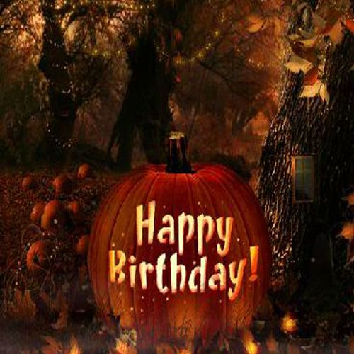 Birthday Enchantment   Fall Birthday ECard · Halloween EcardsHappy ...