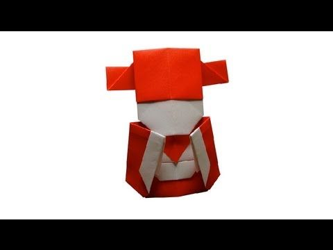 Origami Little Chinese Mammon by JACKY CHAN - YouTube - CABEÇA E CORPO