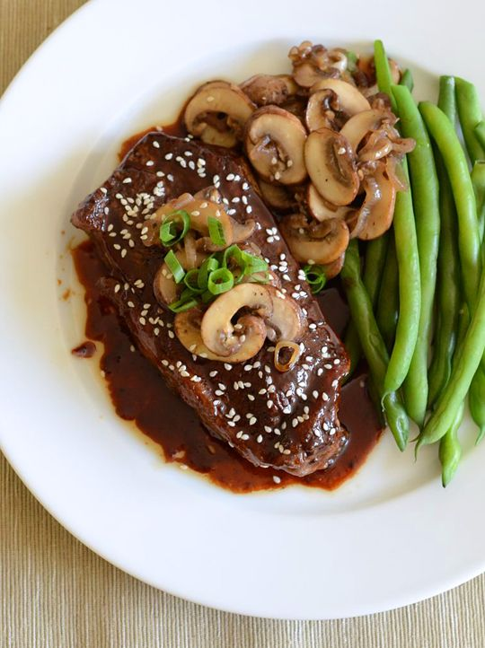 Steak Teriyaki | Appetite for China | Meat Recipes | Pinterest