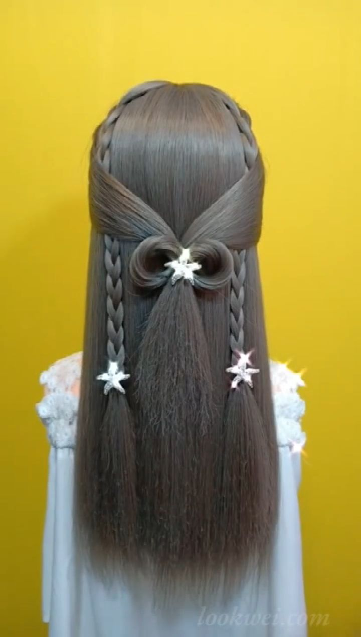 This hairstyle suits your sister.