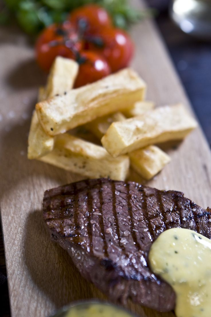 Steak and Chips with Homemade Bearnaise sauce | Sorted Food