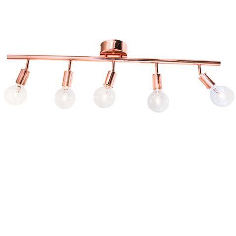 Row takskena som enkelt hängs på takkrok och med riktbara armar. Du väljer själv vilken typ av ljuskälla du vill ha i lampan, vilket gör att du bestämmer vilket typ av ljus lampan ska ge helt själv. Ljuskälla ingår ej.