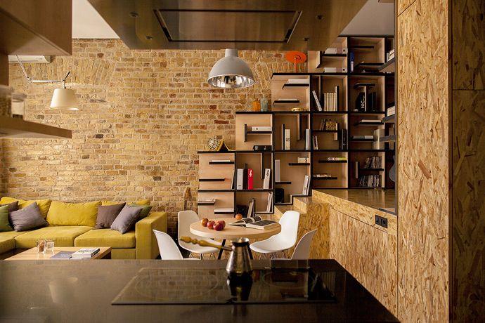 arch, Creative Kiev Apartment by alex bykov