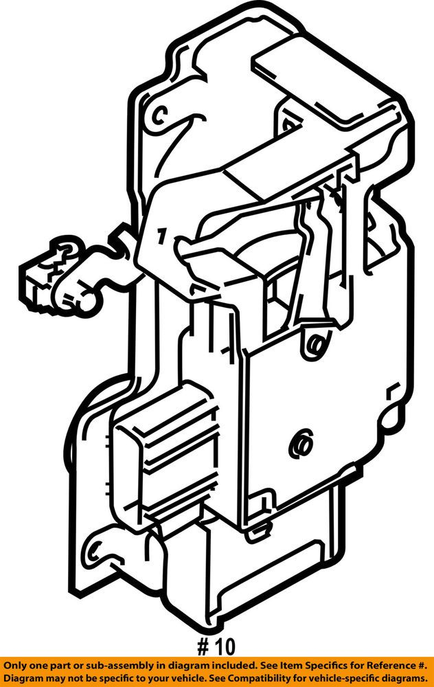 ford oem 10 13 transit connect front door lock actuator motor Front Panel Diagram ford oem 10 13 transit connect front door lock actuator motor 9t1z6121813b