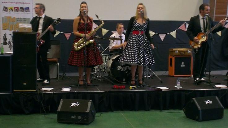 The band - the Stylettes - Epsom Vintage Fair
