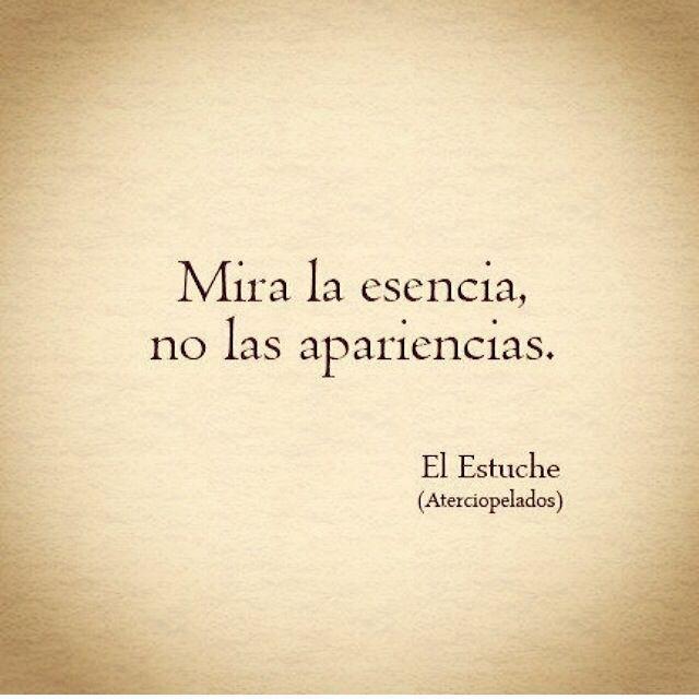 Mira la esencia... #Buenasnoches