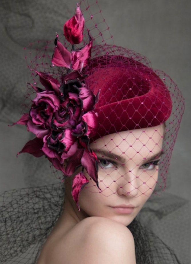 Philip Treacy AW18 collection hat  3d13063bf36a