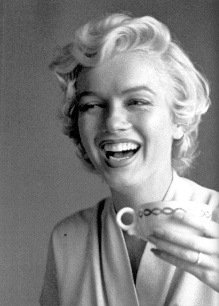 Tea with Marilyn Monroe.