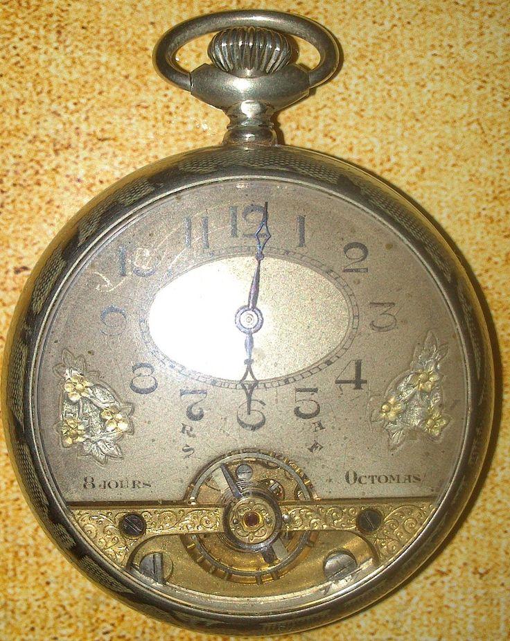 "antique pocket watches | Antique Pocket Watch ""Ancre 8 Jours"""