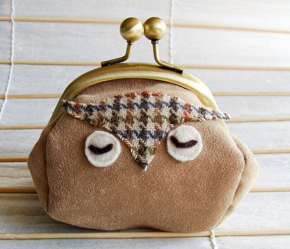 small owl purse