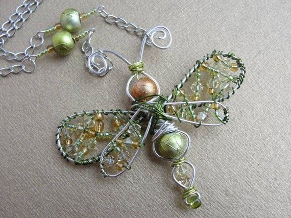 how to make insects out of beads