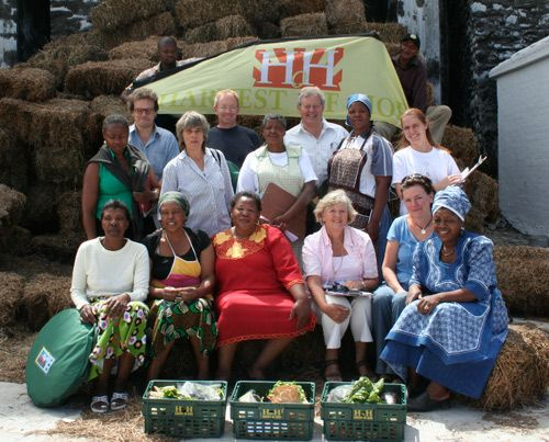 Harvest of Hope provides organically grown vegetables to your door!