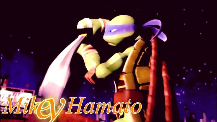 Tmnt 2012 Leo Dancing Little CRAZY XD