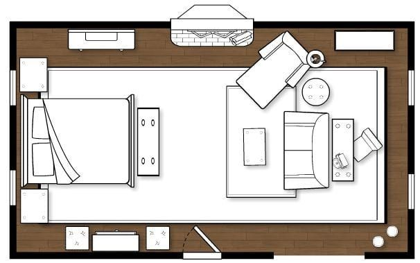 Decorating A Long Narrow Bedroom Master Bedroom Layout Bedroom