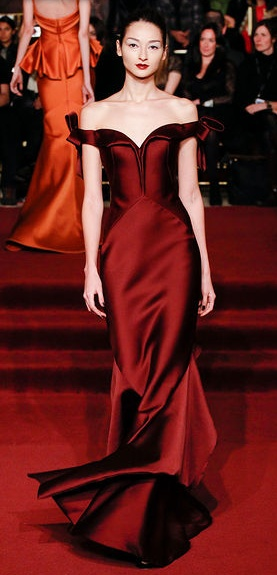 Zac Posen - isn't this a new take on the Julia Roberts dress from Pretty Woman???