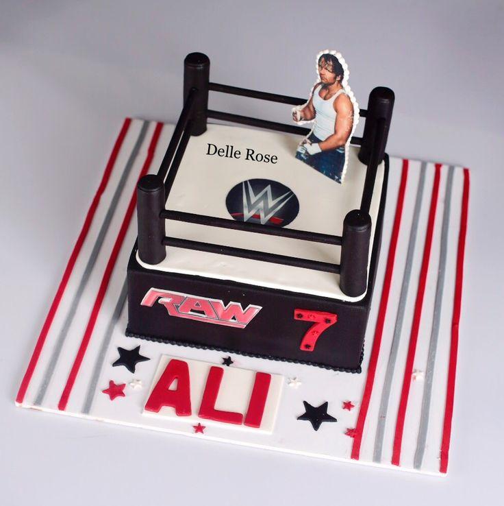 Wwe wrestling cake 💪🏻