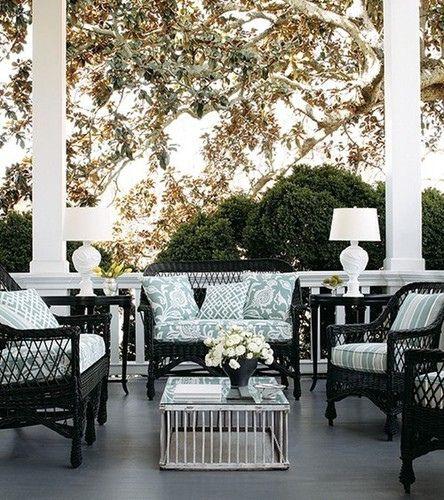 Black Wicker Porch Furniture | unique as seagrass furniture.
