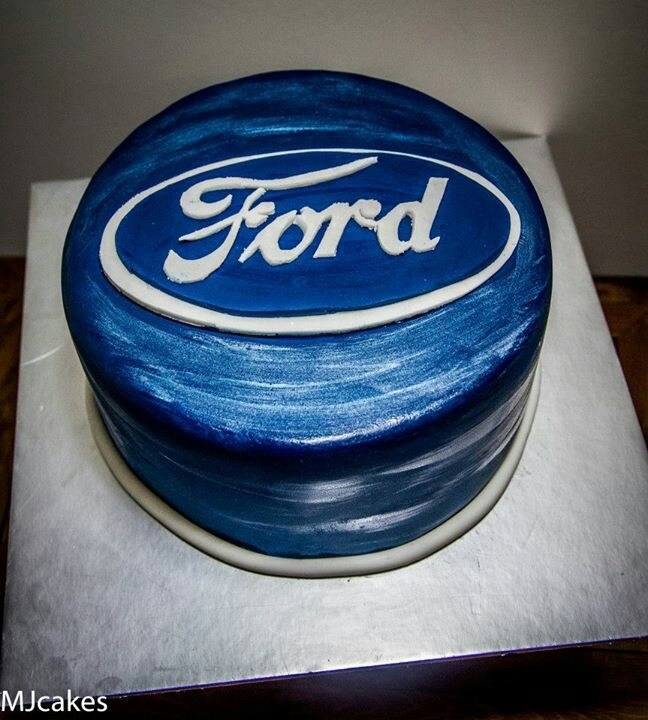148 best Ford Treats images on Pinterest | Mustang cake ...