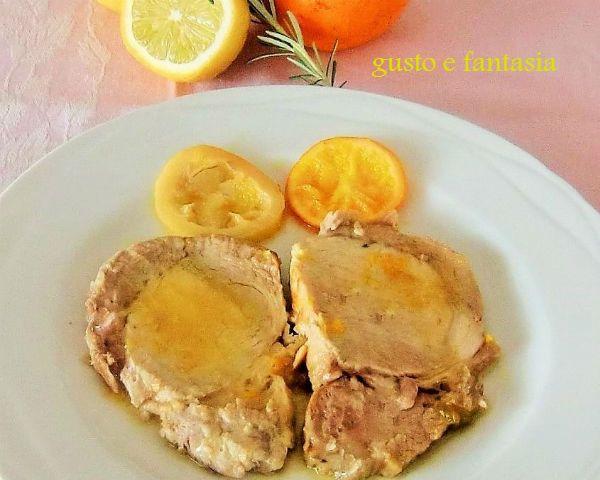 ricetta lonza di maiale agli agrumi