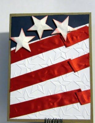 :): American Flags, Fashion Style, July Blog, Fourth Of July, July Cards, Amusestudio July, Happy 4Th, Patriots Flags, Flags Cards